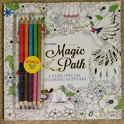 Colorama The Magic Path Adult Coloring Book With Pencils Tv Easter