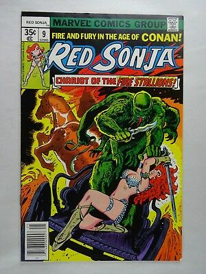 Red Sonja #9   High Grade VF/NM   Chariot of the Fire Stallions   Frank Thorne