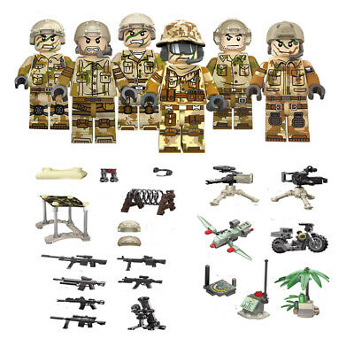 Military Mountain Special Force Building Blocks Sets Models Bricks Figures Toys