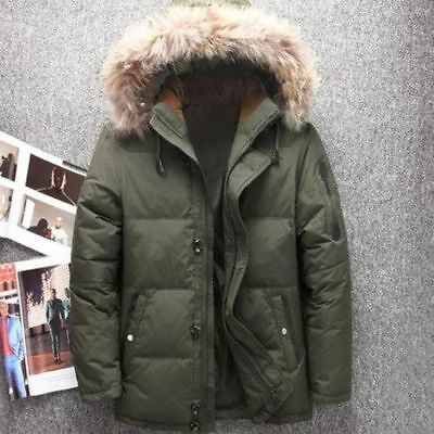 Men's Winter 4 Duck Down Parka Jacket