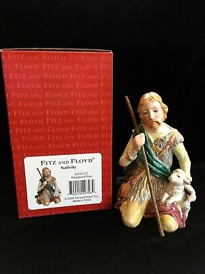 Fitz & Floyd Classic Nativity Shepherd Man (Box Included)