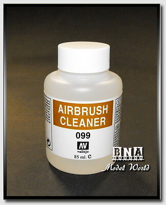Vallejo Acrylic Paint #71099 Airbrush Cleaner 85ml #099