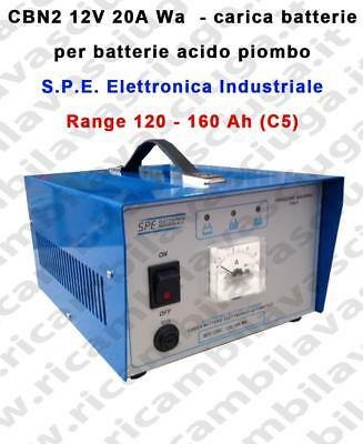 CBN2 12V 20A Wa carica batterie for acid plombe battery S.P.E. Elettronica Indus
