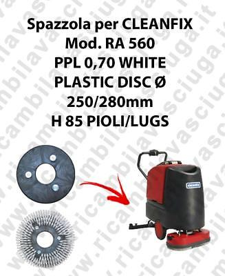 Cleaning Brush PPL 0.7 WHITE for scrubber dryer CLEANFIX Model RA 560