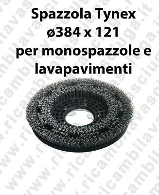 SPAZZOLA TYNEX. Dimensions ⌀384 X 121 valida for scrubber dryer, single disc m