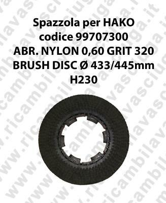 Cleaning Brush for scrubber dryer HAKO codice 99707300