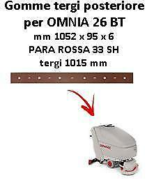 OMNIA 26 BT  Back Squeegee rubber Comac