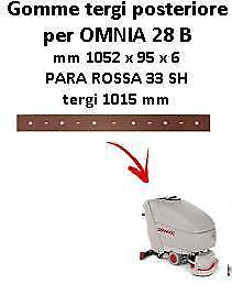 OMNIA 28 B  Back Squeegee rubber Comac