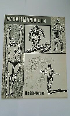 Marvelmania magazine #4, 1970 submariner