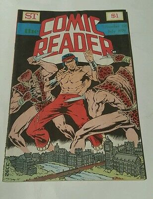 St the comic reader # 170, 1979 master of kung fu cover , mike zeck