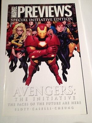 Marvel Previews Special Initiative Edition 2007 Avengers