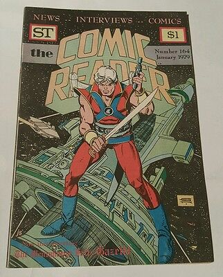 St the comic reader # 164 , 1979 star hawks rex jaxan cover, gil kane
