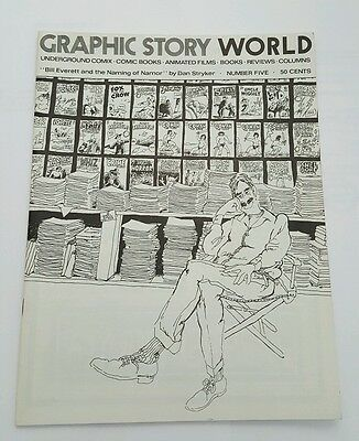 Graphic story world # 5, 1972