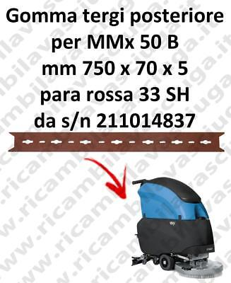 MMx 50 B Back Squeegee rubber for FIMAP  accessories, reaplacement, spare parts,