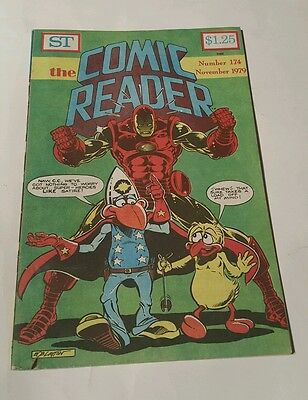 St the comic reader #174, 1979 iron man bob layton cover