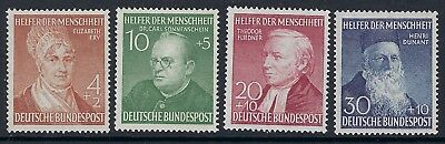 GERMANY : 1952 Humanitarian Relief Fund  set  SG 1082-5 MNH