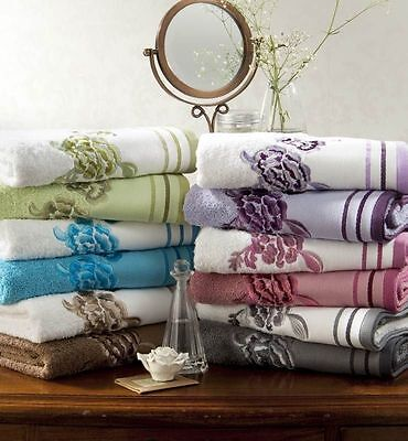 Luxury Egyptian Cotton Extra Soft Embroidered Belvoir Towels, (No112)