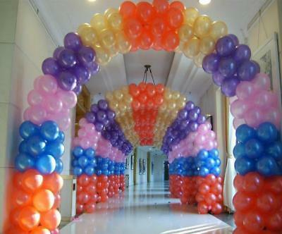 "10"" Inches Latex Pearlised Balloons Party Wedding Birthday 10, 25, 50,100 Baloon"