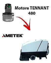 480 Vacuum motors AMETEK for scrubber dryer TENNANT