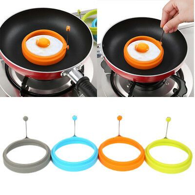 RINNG HEART Egg Shaper Silicone Fried Fry Pan Scary Art Mold Mould Party PR1