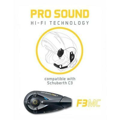 XAU F3MC pro sound kit Interphone Cellularline Schubert C3