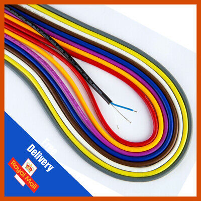 Van Damme Pro Grade Classic XKE 1 Pair Install Cable | 10 Colours | Priced Per M