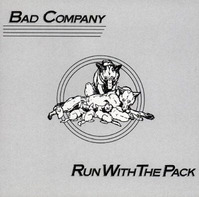 Bad Company - Run With The Pack - Bad Company CD SFVG The Fast Free Shipping