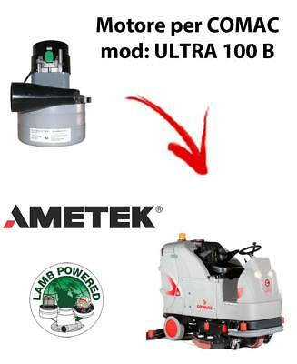 ULTRA 100 B Vacuum motor AMETEK for scrubber dryer Comac