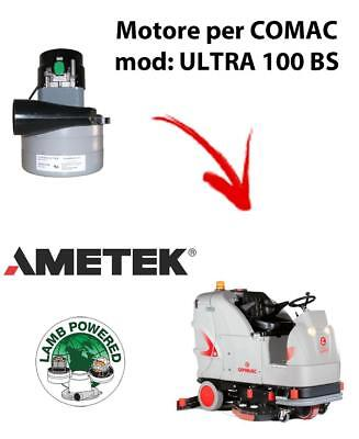 ULTRA 100 BS Vacuum motor AMETEK for scrubber dryer Comac