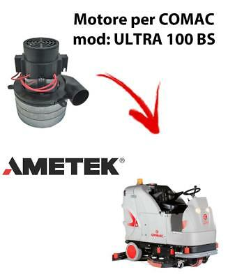 ULTRA 100 BS Vacuum motors AMETEK Italia for scrubber dryer Comac