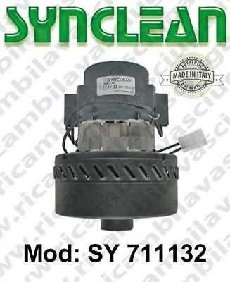 Vacuum motor SY  711132 SYNCLEAN for scrubber dryer