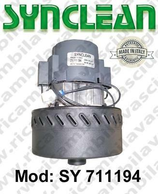Vacuum motor SY  711194 SYNCLEAN for scrubber dryer and vacuum cleaner