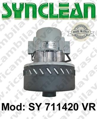 Vacuum motor SY  711420 VR SYNCLEAN for scrubber dryer
