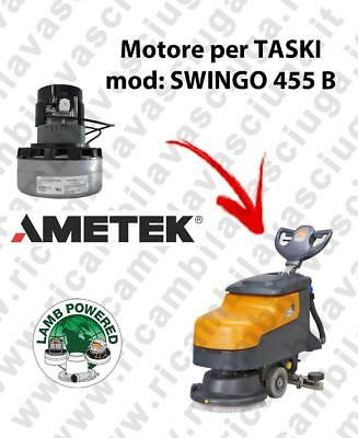 SWINGO 455 B LAMB AMETEK vacuum motor for scrubber dryer TASKI
