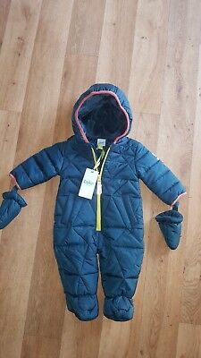 boys ted baker snowsuit brand new with tags 3-6m 7months 8 months debenha