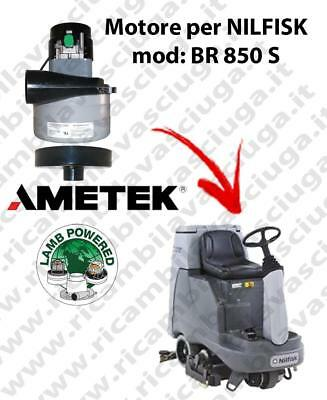 BR 850 S Vacuum motor LAMB AMETEK for scrubber dryer NILFISK
