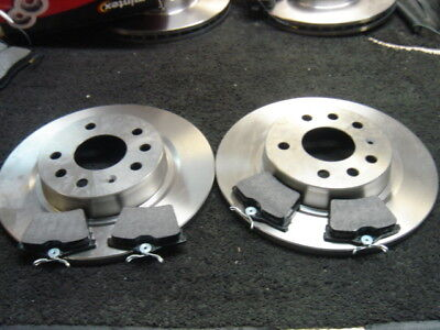 Front Vented Brake Discs Citroen C5 2.0 HDI Estate 2004-08 136HP 288mm