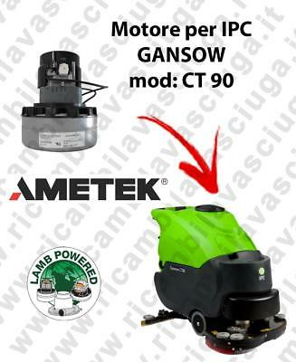 CT 90 LAMB AMETEK vacuum motor for scrubber dryer IPC GANSOW