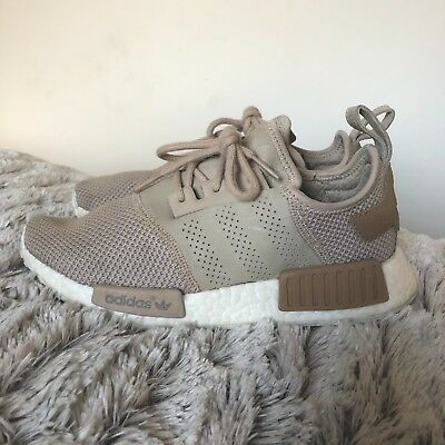 Adidas NMD R1 Runner in Sand Beige/ Nude EU 38.5 Offspring Exclusive