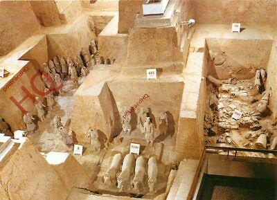 Picture Postcard, Chinese Archaeology, View Of Vault 3