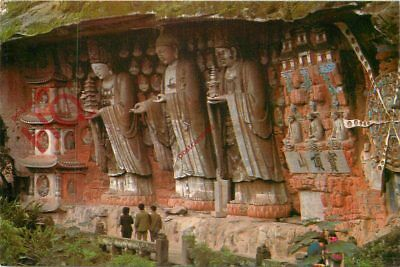 Picture Postcard--China, The Three Holy Images Of The Huayan