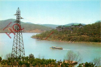 Picture Postcard; China, The Ferry At The Foot Of The Solitary Hill