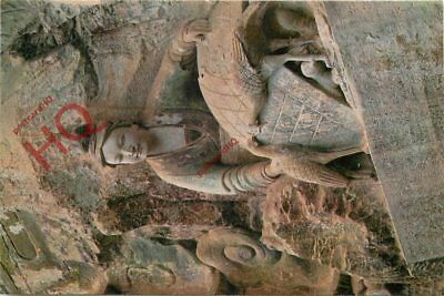 Picture Postcard, China, Rock Carving 20, Hen-Wife In The Stories Of The Hells