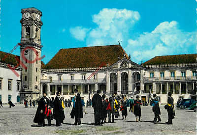Picture Postcard: Coimbra, University And Students, Universidade