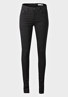 skinny jeans high stretch black teen teenager kid girl women school smart boy uk