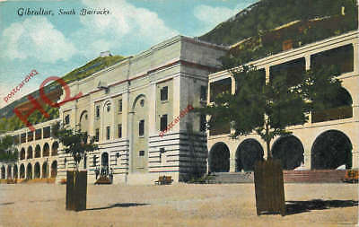 Picture Postcard, Gibraltar, South Barracks