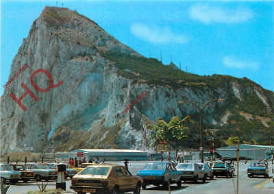 Picture Postcard- Gibraltar, North View Of Rock From Air Terminal