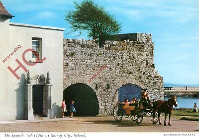Picture Postcard~ Galway City, The Spanish Arch