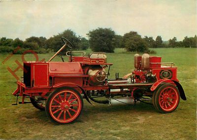 Picture Postcard; MOTOR FIRE ENGINE, 1904