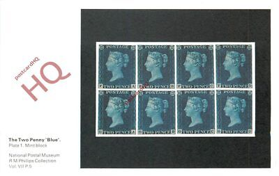 Picture Postcard::National Postal Museum, Two Penny Blue Stamp